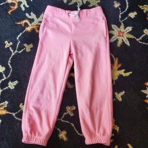 Carters fleece pants
